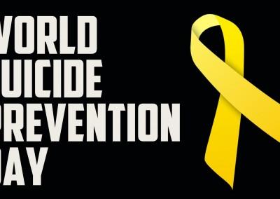 10 กันยายน วันป้องกันการฆ่าตัวตายโลก