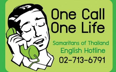 Samaritans of Thailand English Hotline